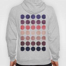 Colorful watercolor circles II Hoody