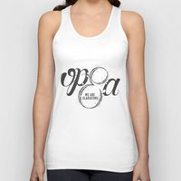scandal Tank Tops featuring Scandal - Olivia Pope & Associates by leftyprints