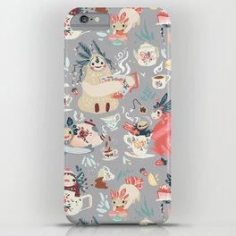 Tea Spirit pattern iPhone Case