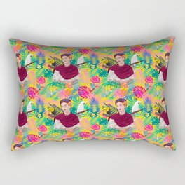 FK Pattern Rectangular Pillow