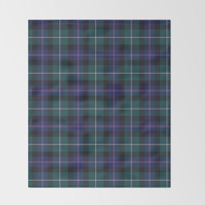 f1e1ca301b Holiday Tartan Plaid Throw Blanket by lisaleonardo