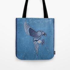 Aboriginal Hawk Wings Attack Tote Bag