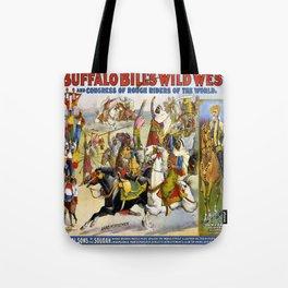Buffalo Bill Wild West Tote Bag
