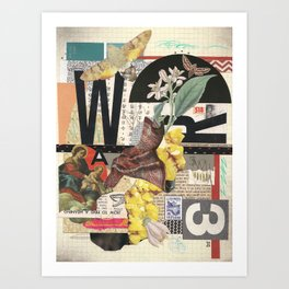 W3 Art Print