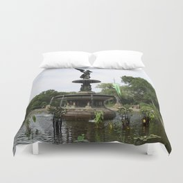Angel Of The Waters Duvet Cover