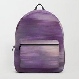 Purple Fusion Illustration Digital Camo Watercolor Blend Fluid Art Backpack