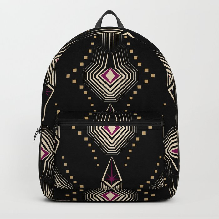 Art Deco. 22 Rumba Backpack