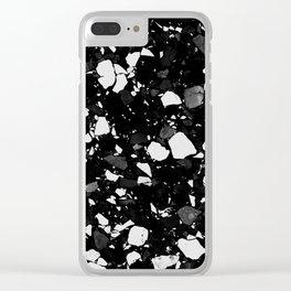 TERRAZZO II Clear iPhone Case