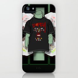 Jade Manikin iPhone Case