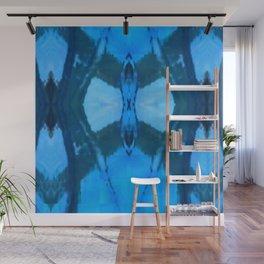 Pattern III Blue Wall Mural