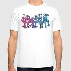 Young, Loud & Snotty Mens Fitted Tee White MEDIUM