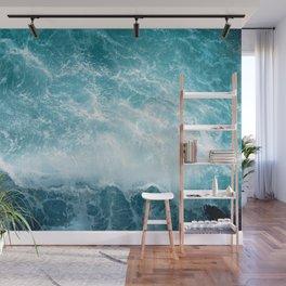 Crashing Wave Wall Mural