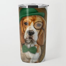 Drawing Dog Beagle 2 Travel Mug