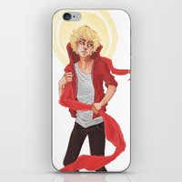 enjolras iPhone & iPod Skins featuring Enjolras by icarusdrunk