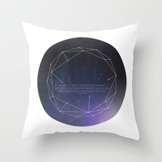 Light (Constellation) Throw Pillow