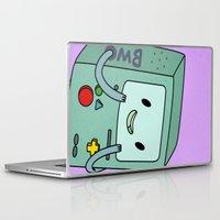 bmo Laptop & iPad Skins featuring BMO by Kyrsten Carlson
