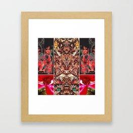 hour owl bat Framed Art Print