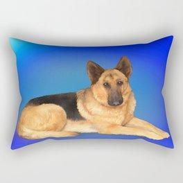 German Shepherd Rectangular Pillow