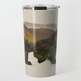 North American Brown Bear Travel Mug