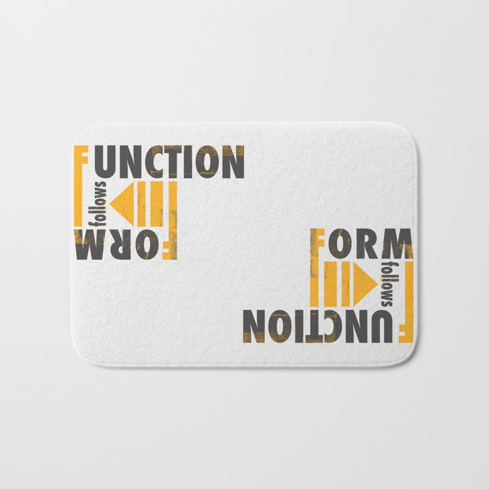 Forming the Quote Bath Mat