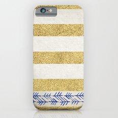 Gold Stripes Slim Case iPhone 6