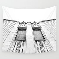 guardians Wall Tapestries featuring The Guardians. by Paperplan