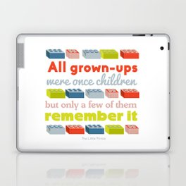 All grown ups were once children Laptop & iPad Skin