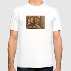 the roots part 3! White MEDIUM Mens Fitted Tee