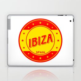 Ibiza, circle Laptop & iPad Skin