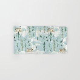 Winter Forest Pattern Hand & Bath Towel