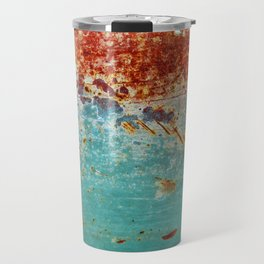 Teal Rust Travel Mug