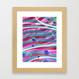 Peacefully Framed Art Print