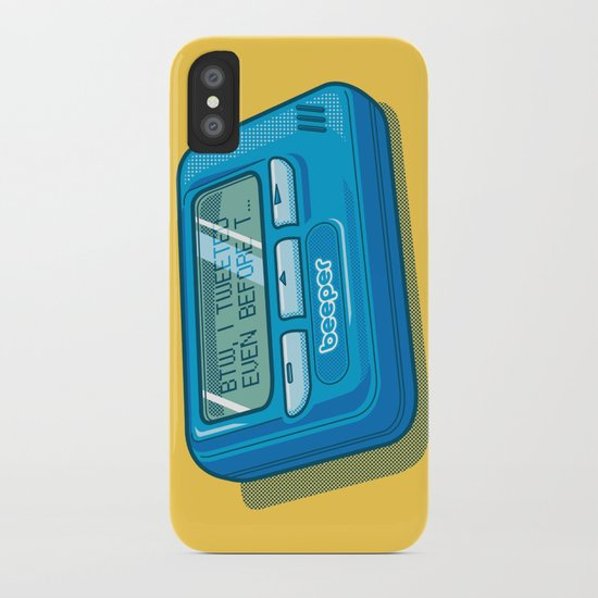 Text Hipster iPhone Case