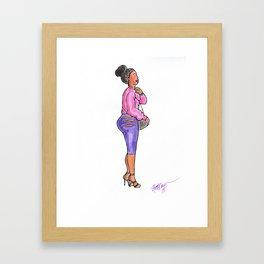 Girl Squad Framed Art Print