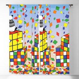 Rubix Panda Blackout Curtain