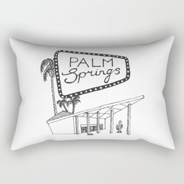 Palm Springs Rectangular Pillow