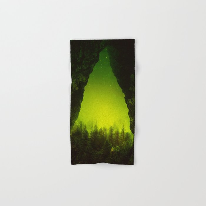 Toxic Forest Hand & Bath Towel