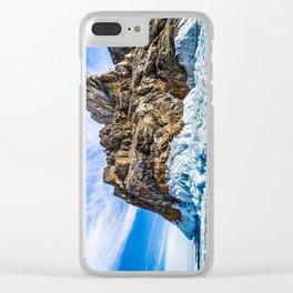 Sleeping dragon. Lake Baikal, island Olkhon Clear iPhone Case