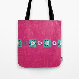 Paracas flowers Tote Bag