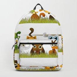 Adorable Zoo animals Backpack