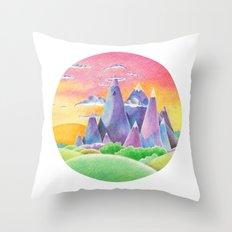 The Ice Kingdom Throw Pillow
