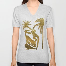 Matisse in Miami Unisex V-Neck