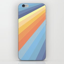 Retro Rays 01 iPhone Skin