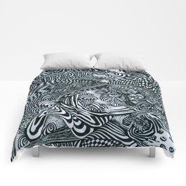 Liquid Skull Comforters