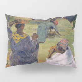1887 - Gauguin - Among the mangoes at Martinique Pillow Sham