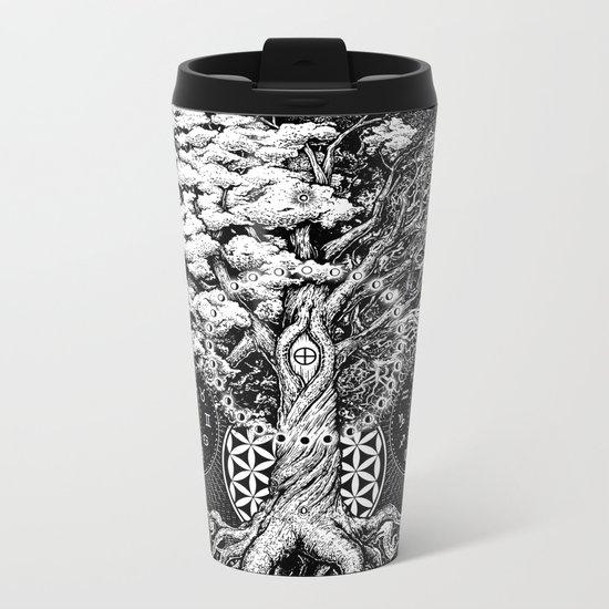 The Tree of Life Metal Travel Mug