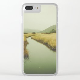 Valley Clear iPhone Case