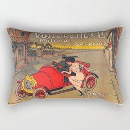 Voiturett paris Rectangular Pillow