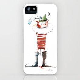 Naughty Boy iPhone Case