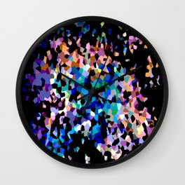 Crystallize 3 Wall Clock